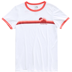 The North Face S/S More Than A Ringer Tri-Blend Tee Shirt - Women's