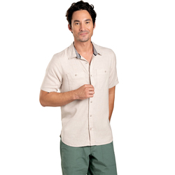 Toad & Co Taj Hemp Short Sleeve Shirt - Men's