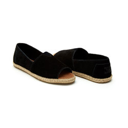 Toms Alpargata Suede Open Toe Shoes - Women's