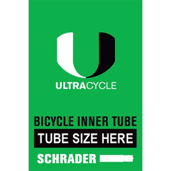 Ultracycle 20 x 2.2 - 2.5 Schrader Valve Tube