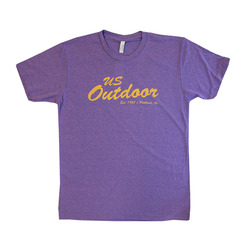 US Outdoor Cursive Logo Tee - Womens