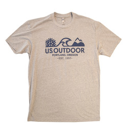 US Outdoor Logo S/S Tee