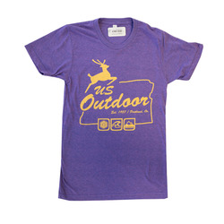 US Outdoor White Stag Logo Tee