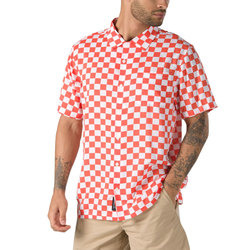 Vans Checker Camp Buttondown Shirt - Men's