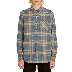 Volcom Caden Plaid Long Sleeve Flannel Shirt - Men's