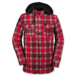 Volcom Field Bonded Tech Flannel Jacket - Mens