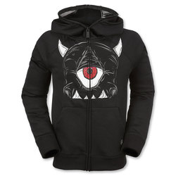 Volcom Boys Prey Fleece Hoodie Jacket - Kids