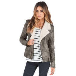 Volcom Laced Moto Jacket - Womens