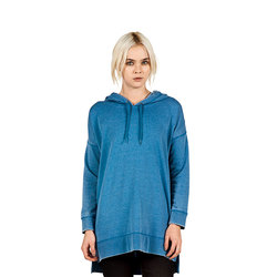 Volcom Lived In Fleece Long Pullover Sweatshirt - Womens