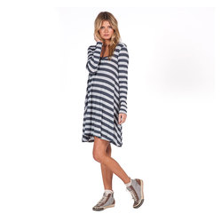 Volcom Lived In Long Sleeve Dress - Women's