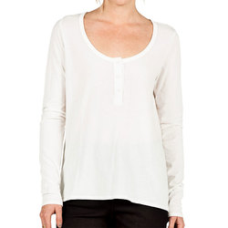 Volcom Lived In Overdyed Henley - Womens