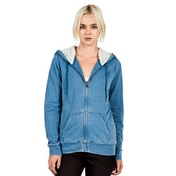 Volcom Lived In Sherpa Zip Hoodie - Womens