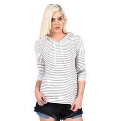 Volcom Lived In Stripe Hoodie - Women's