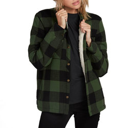 Volcom Plaid About You Long Sleeve Flannel Shirt - Women's