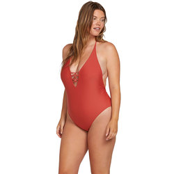 Volcom Simply Solid 1 Piece Swim Suit - Women's