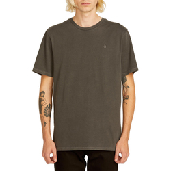 Volcom Solid Stone Short Sleeve Emblem Tee Shirt - Men's