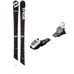 Volkl Wall JR Skis With M4.5 Fastrak Bindings 2017