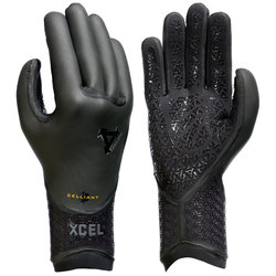 XCEL 3mm Drylock 5 Finger Gloves